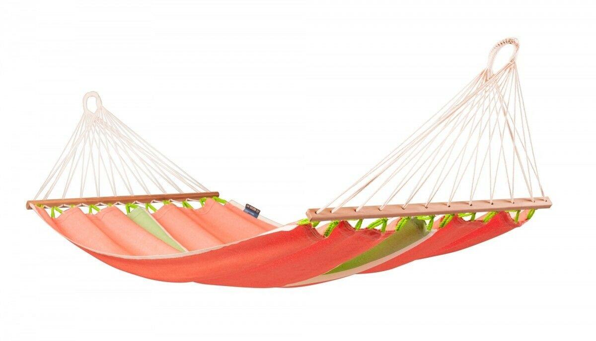 Eenpersoons spreidstok hangmat outdoor - Fruta Mango - LA SIESTA (FRR11-5)