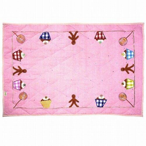 Gingerbread Cottage Floor Quilt (klein) - Win Green (1307)