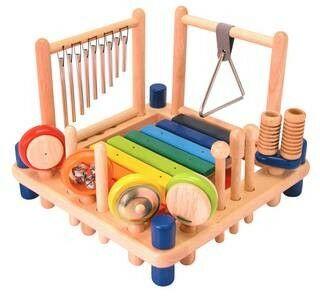 Speelgoed binnen | Educatief speelgoed | Speelgoed Muziekinstrument | Drumstel & Percussie