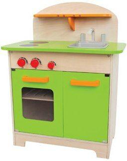 Houten keuken groen - Hape