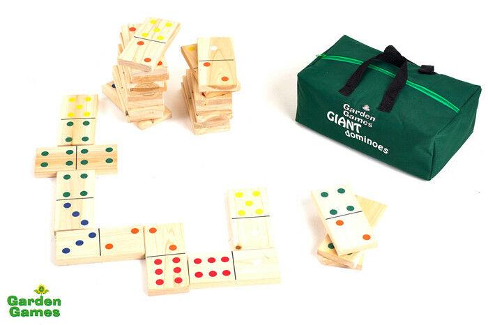 Mega Domino's in een tas - Garden Games