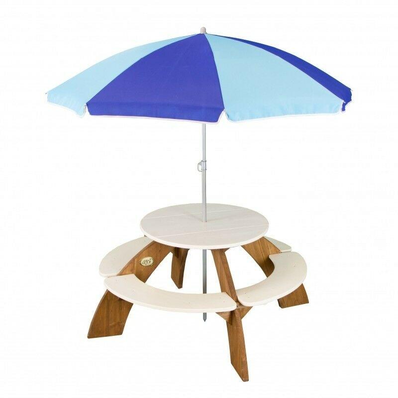 AXI Orion picknicktafel met parasol 141 cm