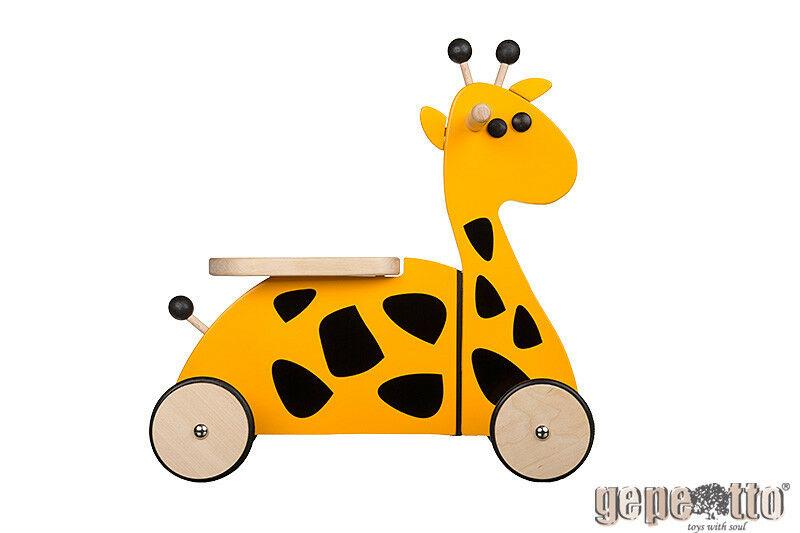 - Houten Sit'n' Ride Giraffe Loopfiets - Gepetto(RD01 )