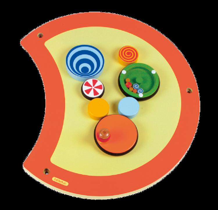 Speel Element Rups (Draaibord) - Beleduc (23633)