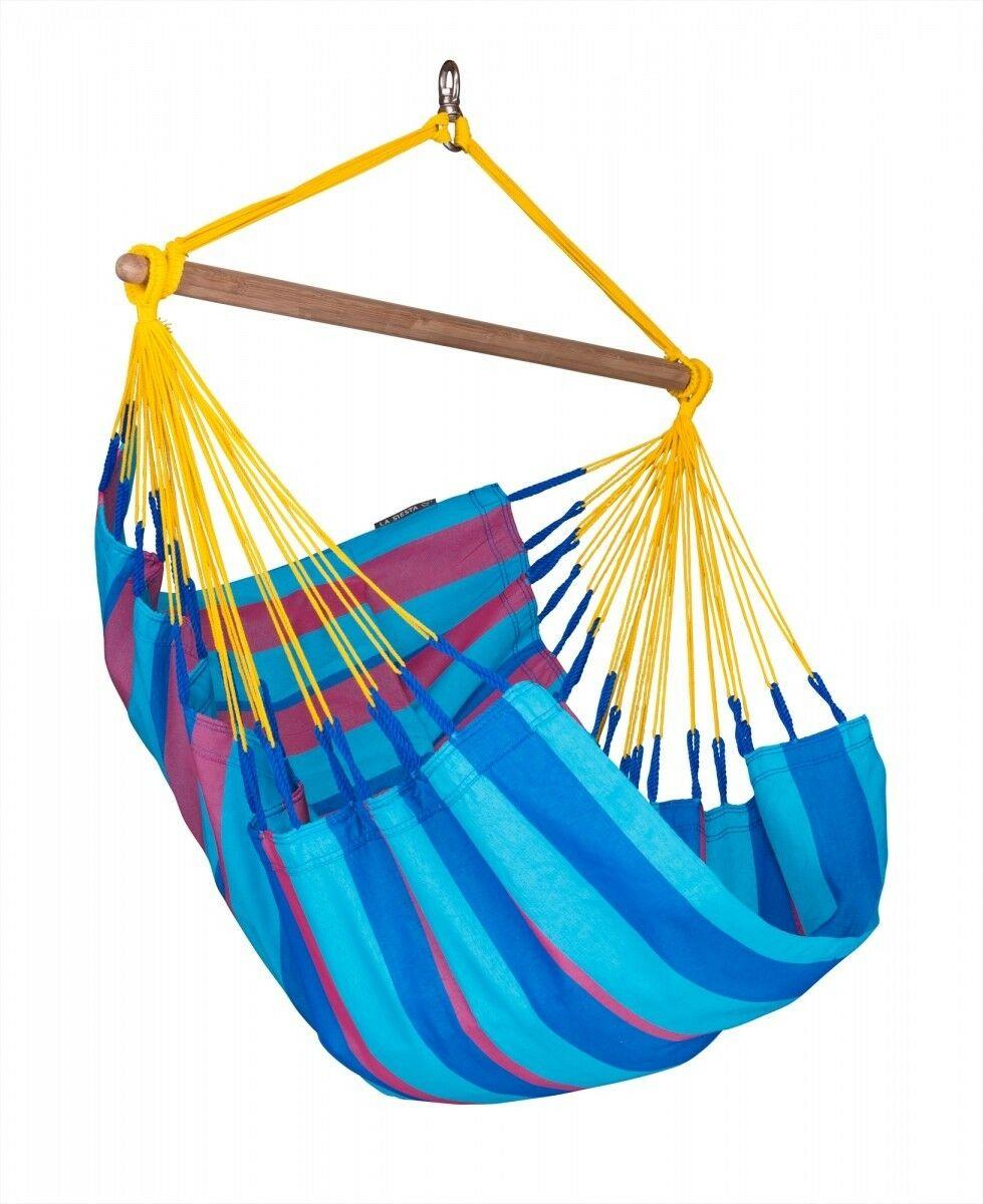Basic hangstoel outdoor - Sonrisa Wild Berry - LA SIESTA (SNC14-3)