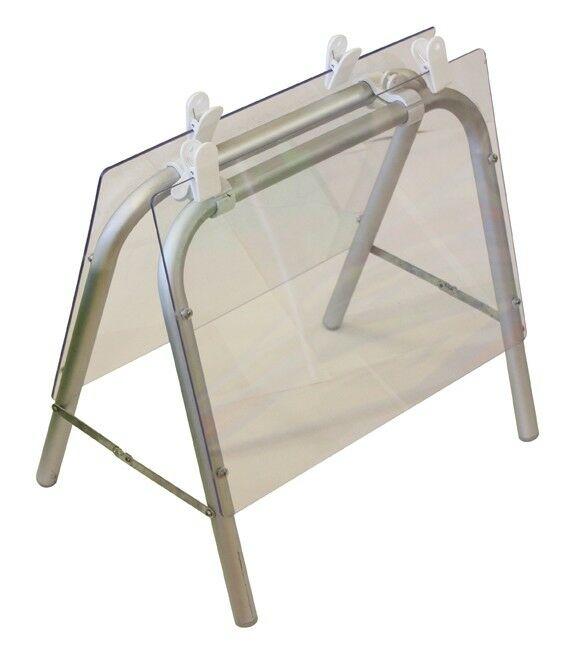 Aluminium tafelblad ezel (TME61C)