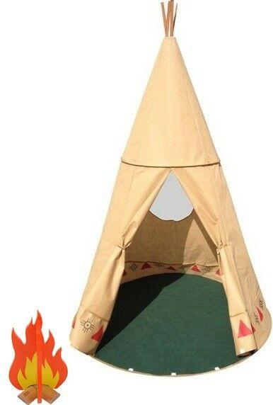 Tipi Tent Indianen Wigwam Ndee (met kampvuur) - Amleg (83192)