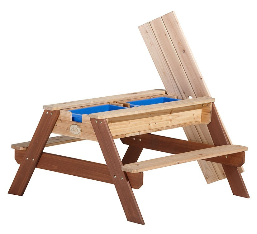 AXI zand , water en picknicktafel Nick junior blank 90 cm